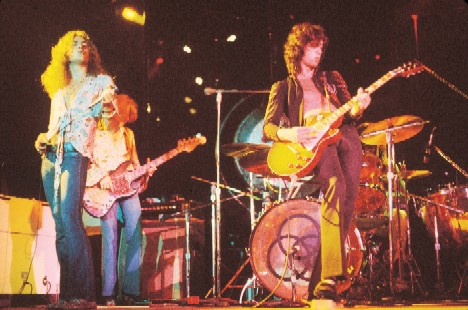 Led Zeppelin a long time ago