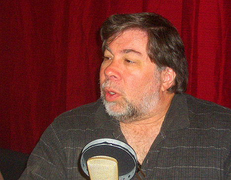 Steve Wozniak in the Mondo Studio