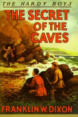 The Secret of the Caves - The Hardy Boys - original 1929 cover