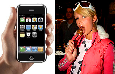iPhone v. Paris Hilton