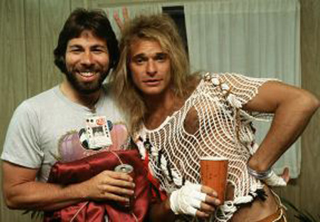 Woz and David Lee Roth