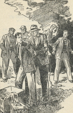 The Shore Road Mystery - original 1928 illustration