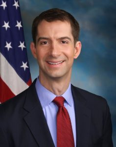41-year-old senator Tom Cotton spreads untrue rumor on Fox News